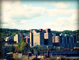 Duluth Cityscape by techunit