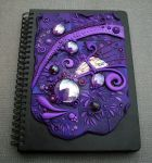 Journal Cover Purple Passion by MandarinMoon