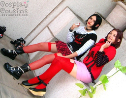 7 and 8 by CosplayCousins
