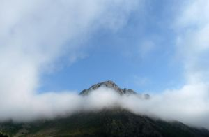 Over the misty mountain by Betagalactosidase