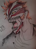 Ichigo-hollow mask by JPhilBryan
