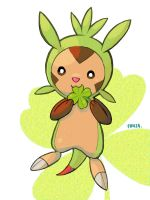 Cute Chespin by nufonza
