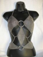 Diamond Chainmail Top by DeviantChainMaille