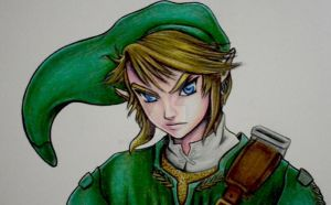 Link of The Legend of Zelda by domerelly