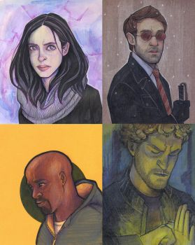 The Defenders by sn0otchie
