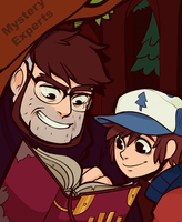 Gravity falls-Mystery Experts by uzuluna