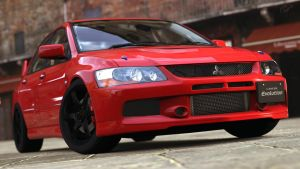 2005 Mitsubishi Lancer Evolution IX (GT5) by Vertualissimo