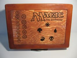 Magic Deck Box Lunch Box by OneEyedGimp
