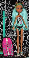 Nerida OOAK Monster High doll custom by rainbow1977