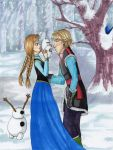 Olaf's First Kiss? by yryahuln