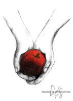Do you want an apple? by Chanimal-DS