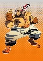 old ryu by BookerJ