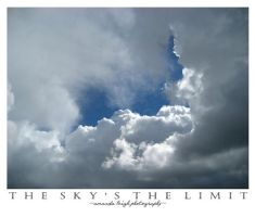The Sky's The Limit by lunerflower