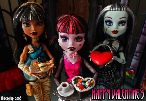 Happy Valentine's, Ghouls! by Mecaglup