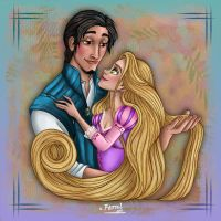 RAPUNZEL AND FLYNN 2 by FERNL