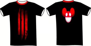 A Skrillex and Deadmau5 T-Shirt by sonadowclub543