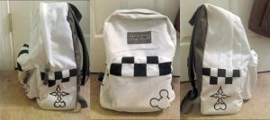 Twilight Town Roxas Backpack by BlondieCartoons