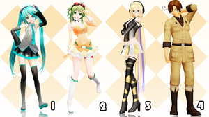 MMD Pose Pack 24 by Aisuchuu
