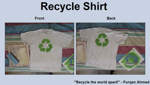 Recycle Shirt by tonkonton