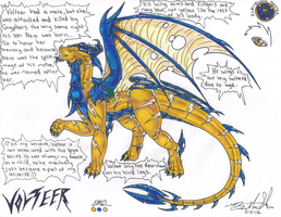 Elder Volteer Ref by Neffertity