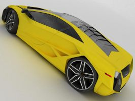 Lamborghini Concept Back by TheCarloos
