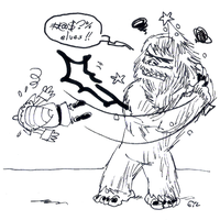 DSC 2014-12-17 The Abominable Snowmonster by theEyZmaster