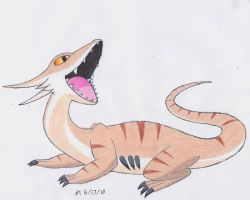 Dragon-Ground Fakemon by VibrantEchoes