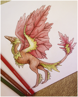 Maple Dragon-Spirit by Sezaii