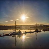 river morning by derrybarry