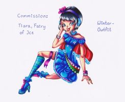 COM: Tiara, fairy of ice, winter - outfit by Kleiner-Schmetterlin