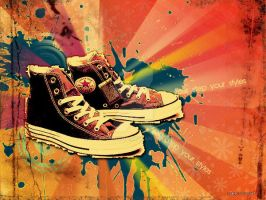 converse by sweetcocoa