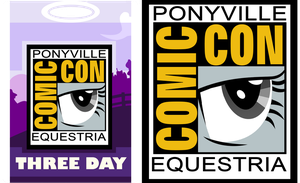 Ponyville Comic Con Props by PixelKitties