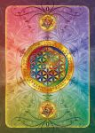 Flower of Life Postcard dark by Lilyas