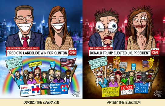 Election 2016 - Before and After by brentcherry