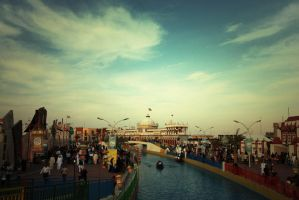 At Global Village III by lostreality91