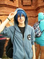 Cosplay Kaito matryoshka by chrona-girl
