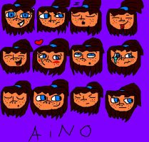 Aino-moods drawing. by C-J-Sparrow