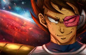 DBZ - Grown up under Ruins - Prince of all Saiyans by RedViolett