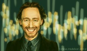 Tom Hiddleston by concentriccookies