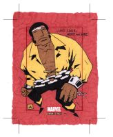 Luke Cage, Hero for Hire by soliton