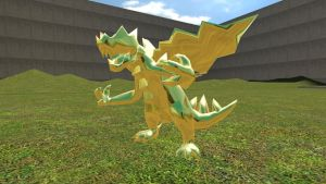 golden druddigon by Catty-Mintgum