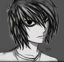 L- Death Note by rapperfree