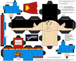 DCF6: Superman Cubee by TheFlyingDachshund