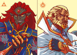The Gauntlet Bros. by Bahnloopi