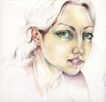 Prismacolor Self-Portrait by sphinxmuse