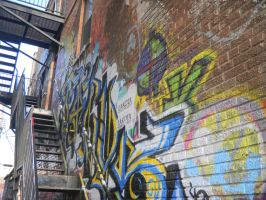 Art Alley 02 by The-Lighted-Soul