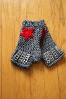 Winter Soldier Gauntlets by oddsterinJpan