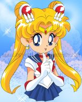 Sailor Moon SD by LimettenLuder