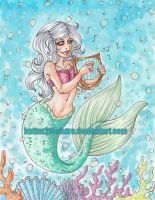 Musical Mermaid by Boofrickittyhoo
