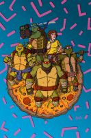 Heroes In A Half Shell. by stayte-of-the-art